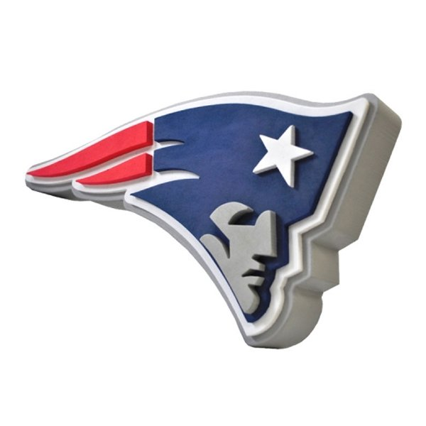 Patriots 3D Hand Foam Sign w/Strap