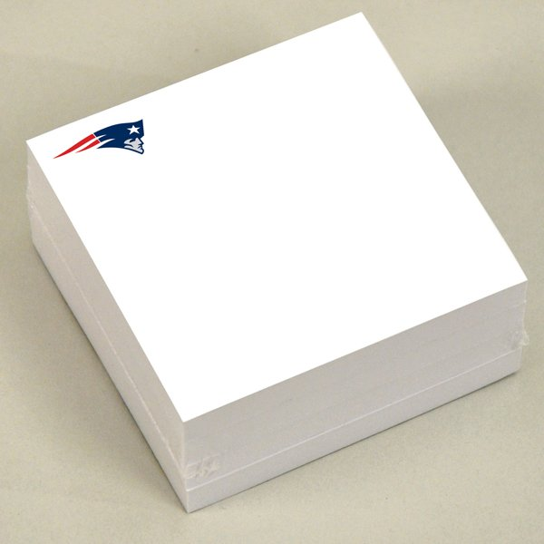 Patriots 3x3 Sticky Notepad-4pk