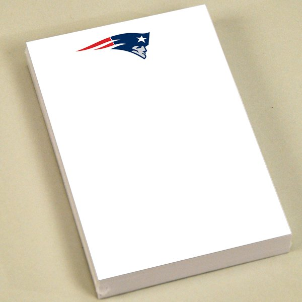 Patriots 4x6 Sticky Notepad-4pk
