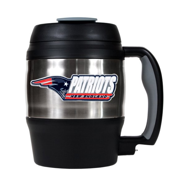 Patriots 52oz Macho Travel Mug