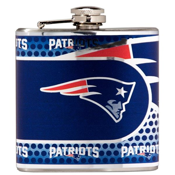 Patriots 6oz Hip Flask
