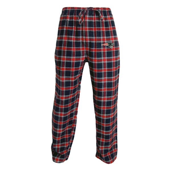 Patriots Acclaim Flannel Pant-Navy/Red