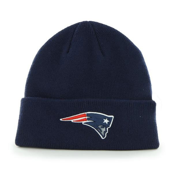 Patriots Basic Cuffed Knit Hat-Navy