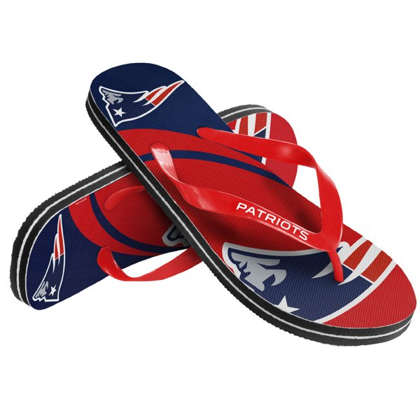 Patriots Big Logo Flip Flop