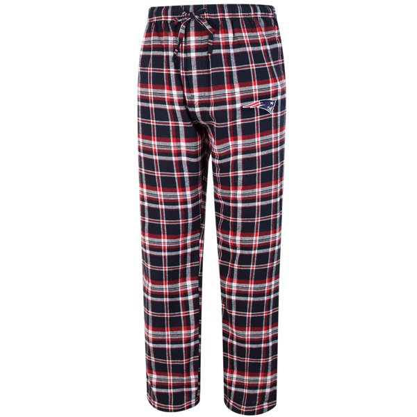 Patriots Bleacher Flannel Pant-Navy/Red