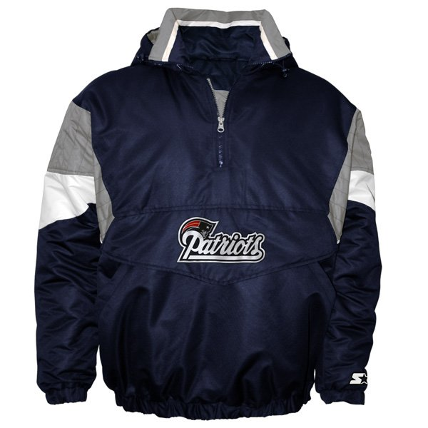 Patriots Breakaway 1/2 Zip Pullover Jacket