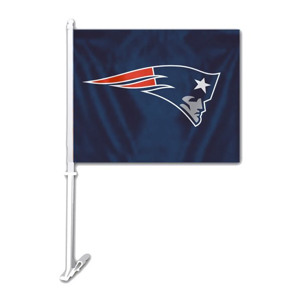 Patriots Logo Car Flag
