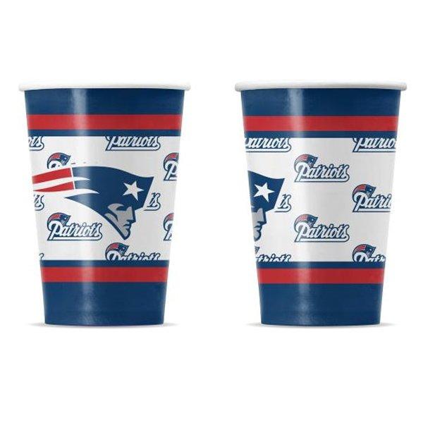 Patriots Paper Cups(20pk)