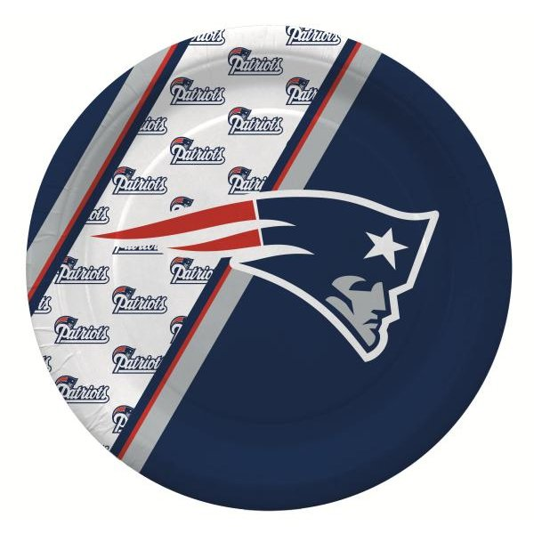Patriots Paper Plates(20pk)