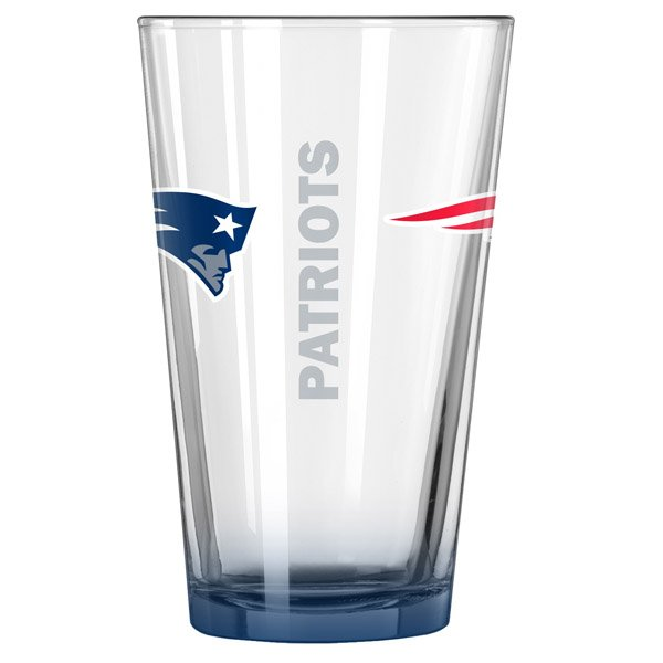 Patriots Elite 16oz Pint Glass