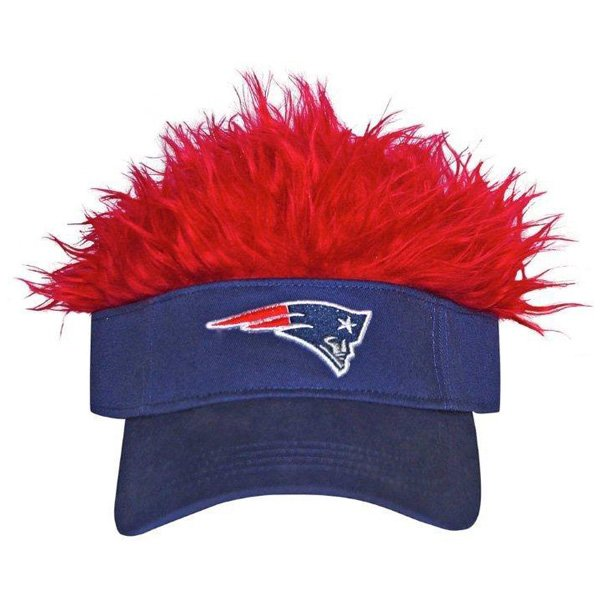 Patriots Flame/Hair Visor