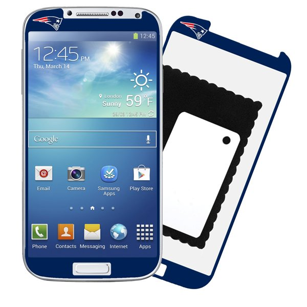 Patriots Galaxy S4 Screen Protector-2pk