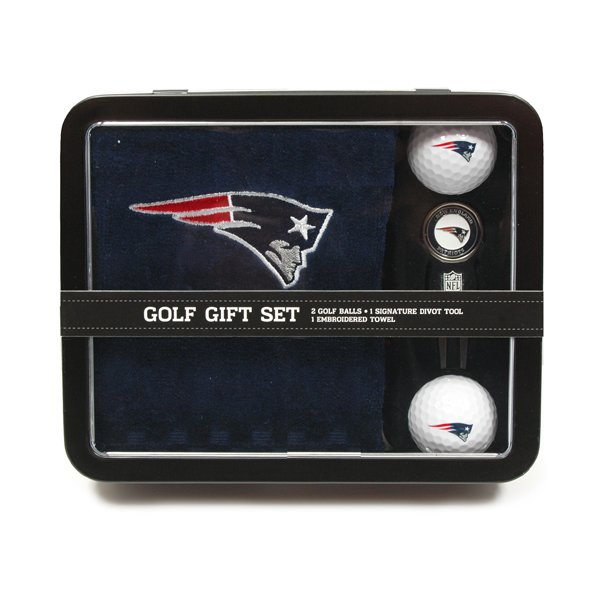 Patriots Golf Gift Set-Towel/Divot Tool
