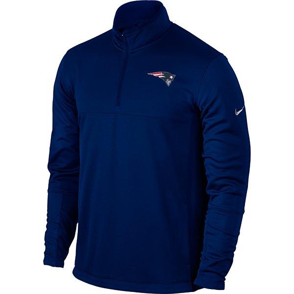 Nike 1/2 Zip Therma Fit Top-Navy