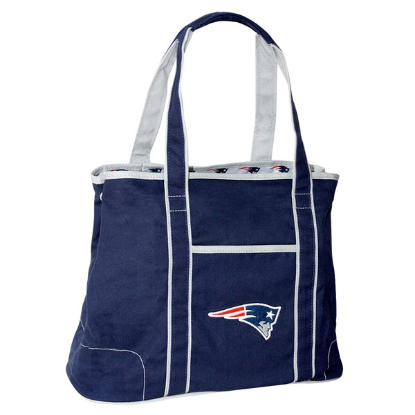 Patriots Hampton Tote Bag-Navy