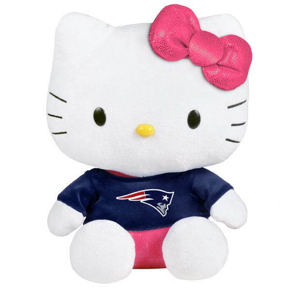 Patriots Hello Kitty Plush Toy