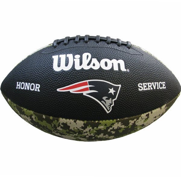 Patriots Salute To Service Junior Football-Camo