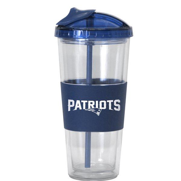 Patriots Wordmark 22oz No-Spill Tumbler