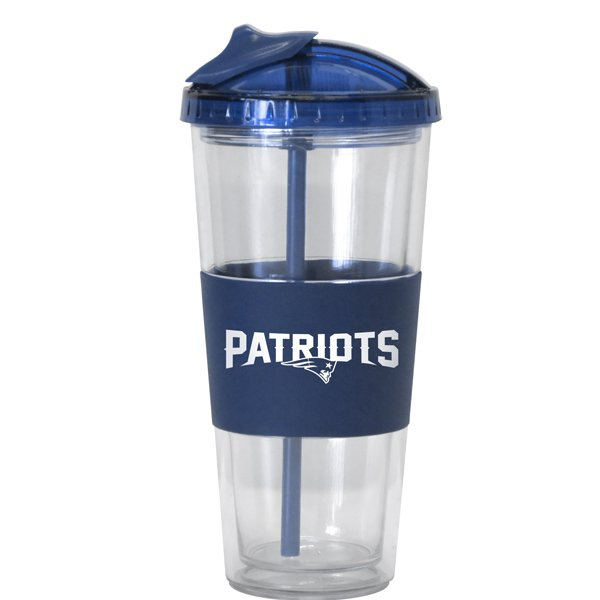 Patriots Wordmark 22oz No-Spill Tumbler