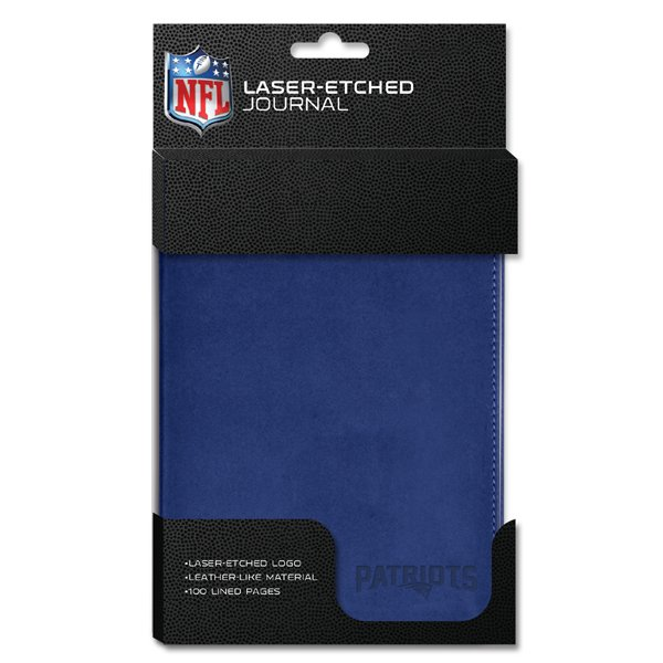 Patriots Embossed 5x8 Journal-Blue