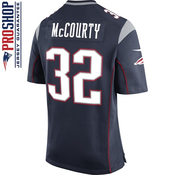 Nike Devin McCourty #32 Game Jersey-Navy