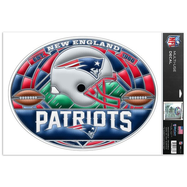 Patriots Stained Glass Decal