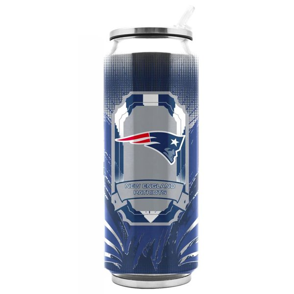 Patriots Large 16.9oz Thermo Can