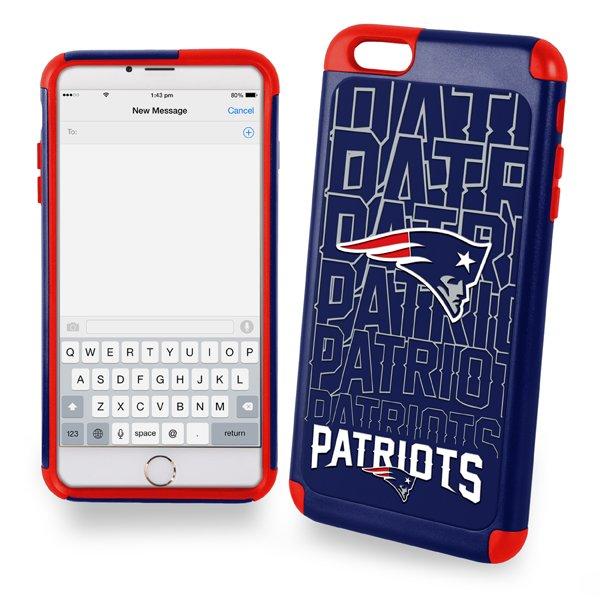 Patriots Dual Hybrid Cover-iPhone 6 Plus
