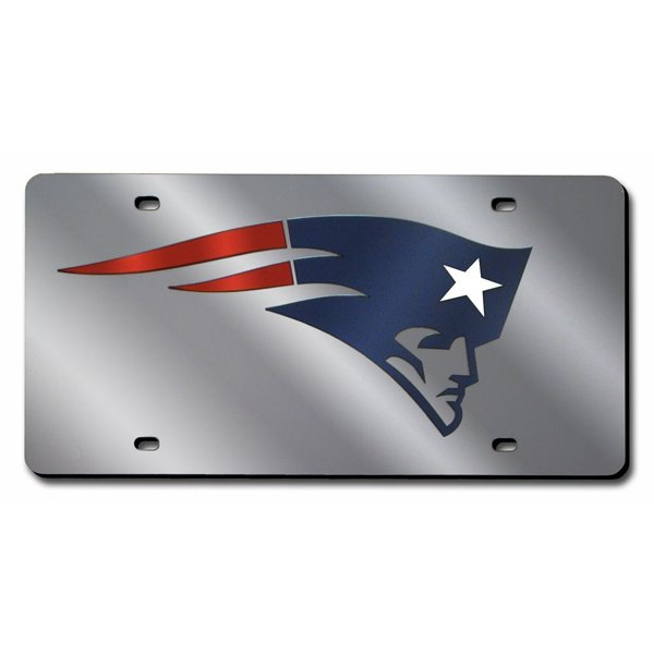 Patriots Laser-Cut Auto Tag