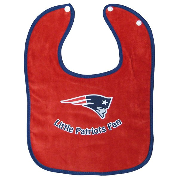 Little Pats Fan Bib-Red