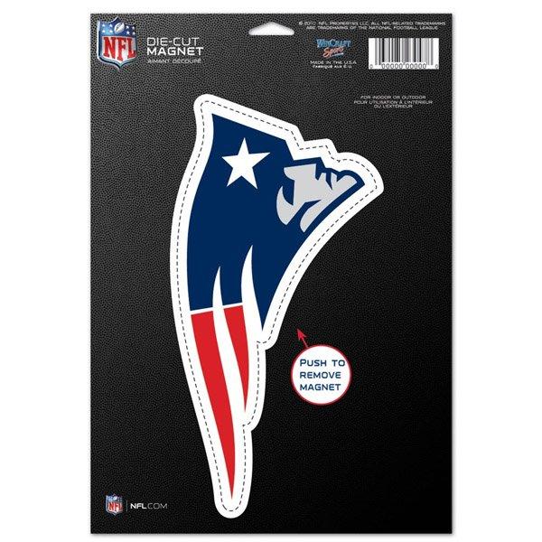 Patriots Logo Die Cut Magnet
