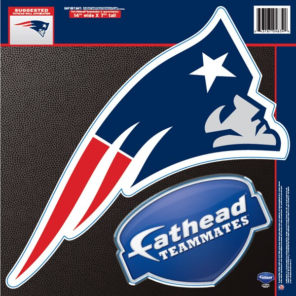 Patriots Logo Fathead Teammate