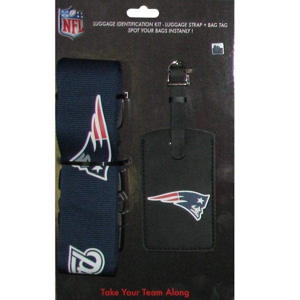 Patriots Luggage/Bag Tag Set