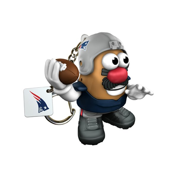 Patriots Mr. Potato Head Keychain