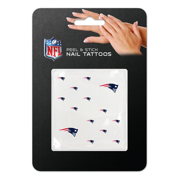 Patriots Nail Tattoos