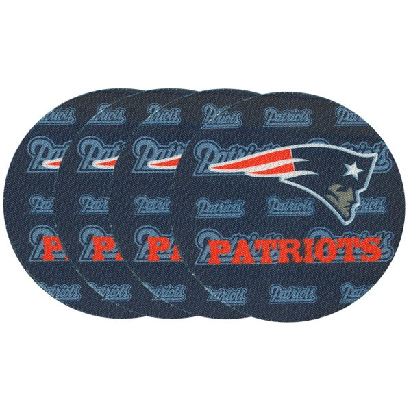 Patriots Neoprene Car Coaster-4pk