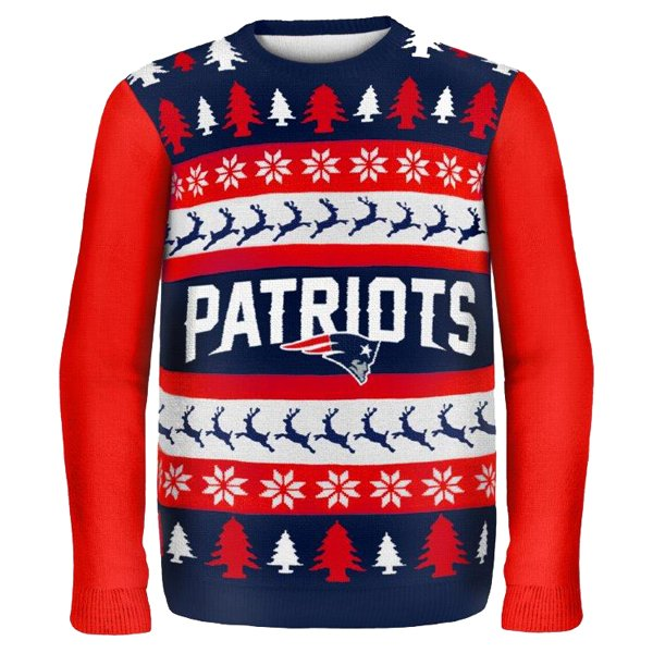 Patriots One Too Many Ugly Sweater