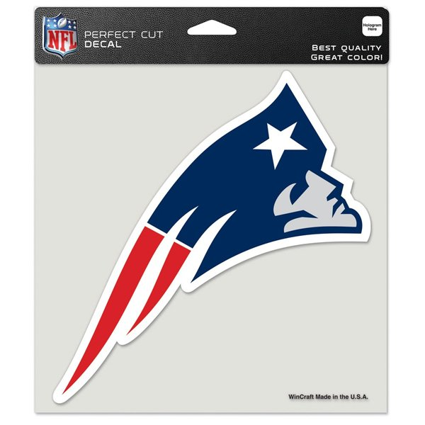 Patriots Perfect Cut 8x8 Decal