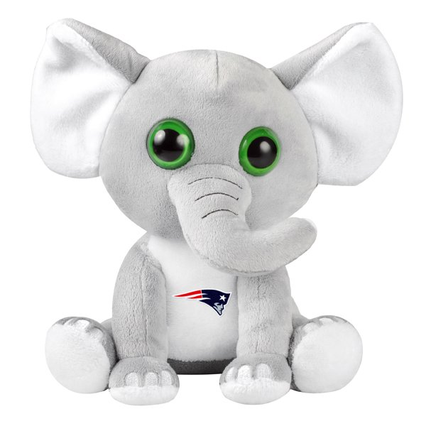Patriots Plush Big Eye Elephant