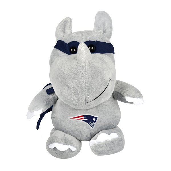 Patriots Plush Super Hero Rhino