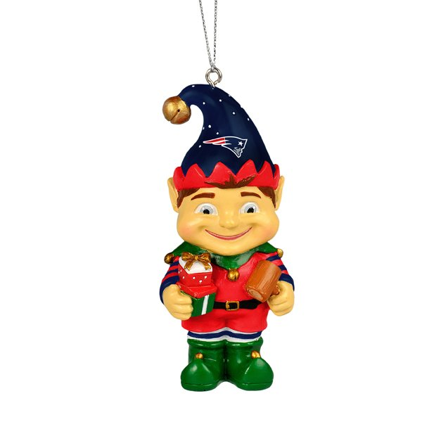 Patriots Resin Elf Ornament