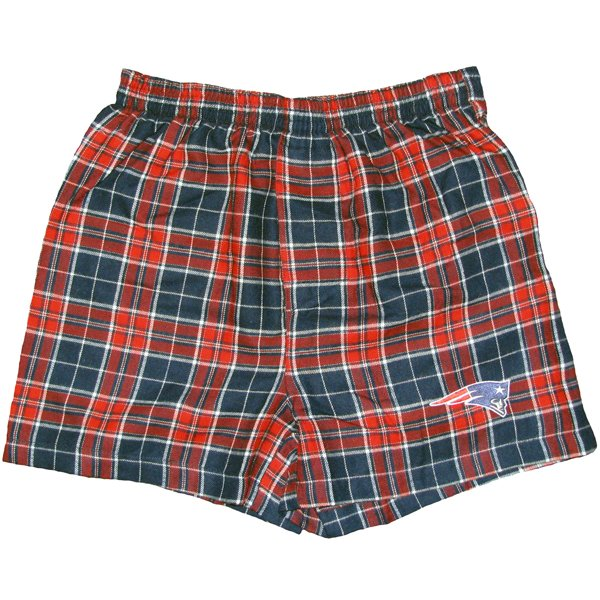 Patriots Roster Flannel Boxers