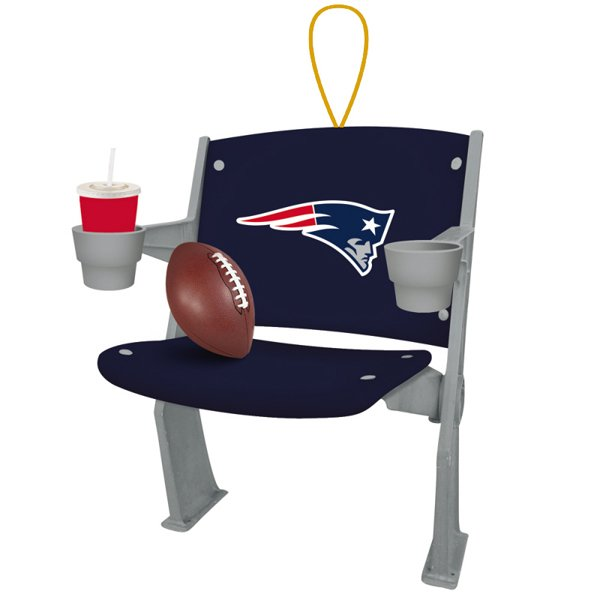 Patriots Stadium Chair Ornament