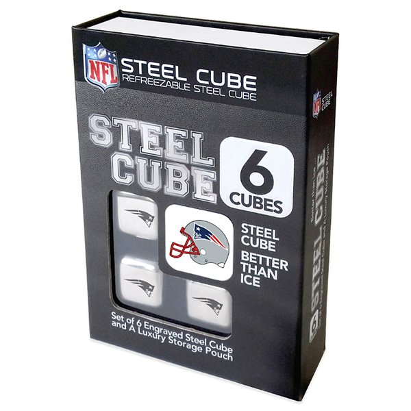 Patriots Steel Ice Cube-6pk