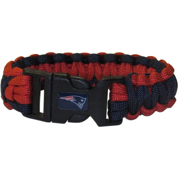 Patriots Survival Paracord Bracelet-Navy/Red