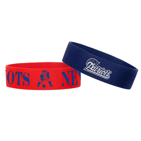 Patriots Multi-Logo Bulk Bands-2 Pack