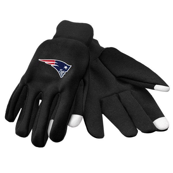 Patriots Texting Gloves-Black