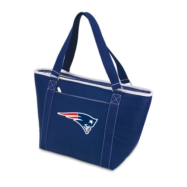 Patriots Topanga Shoulder Tote-Navy
