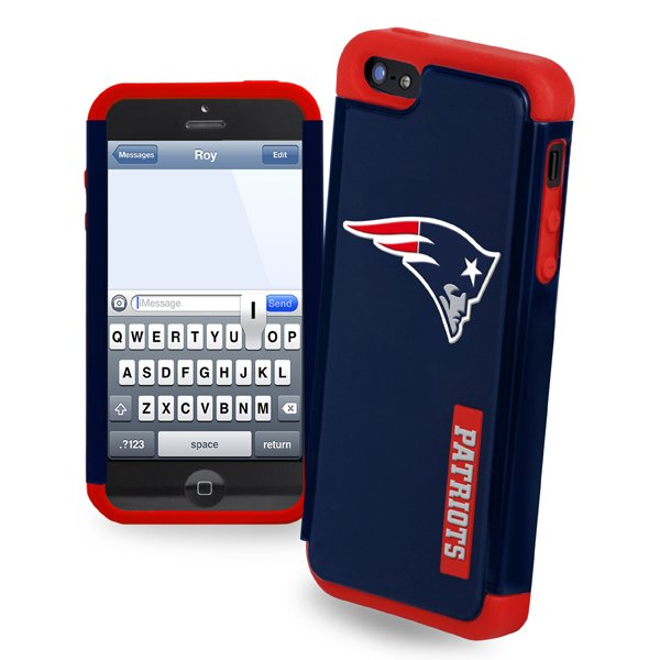 Patriots iPhone 5 Dual Hybrid Cover