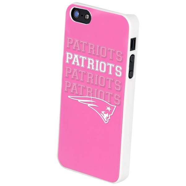 Patriots iPhone 5 Pink Cover